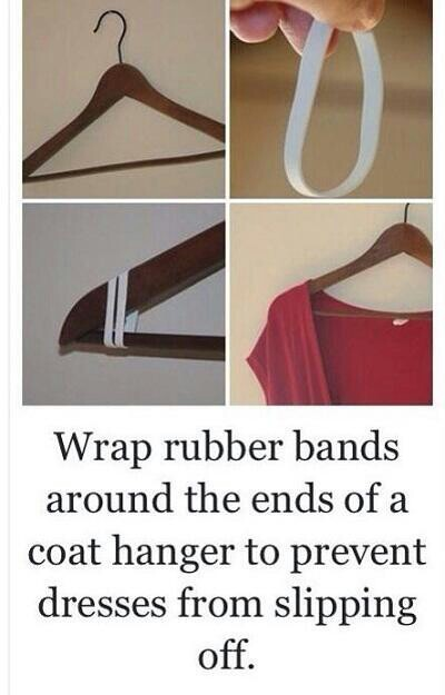 Clothes fallkng off hangars? Heres how to fix it