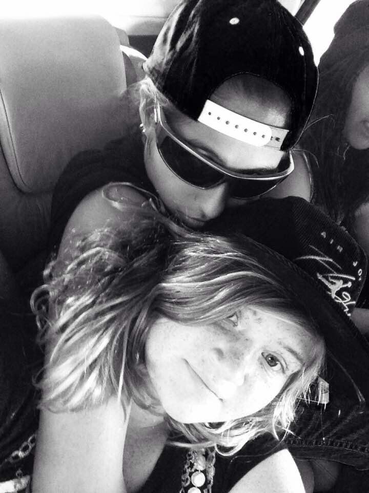 Ash and me