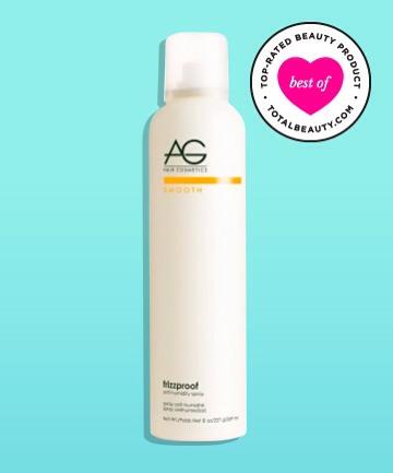 The Best #5: AG Hair Cosmetics Frizzproof Argan Anti-humidity Spray, $24