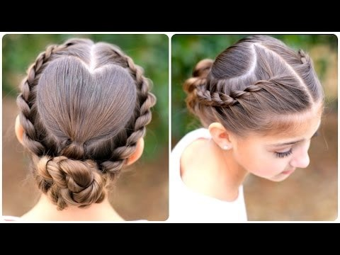 There is a video of this one at cute girls hairstyles on youtube