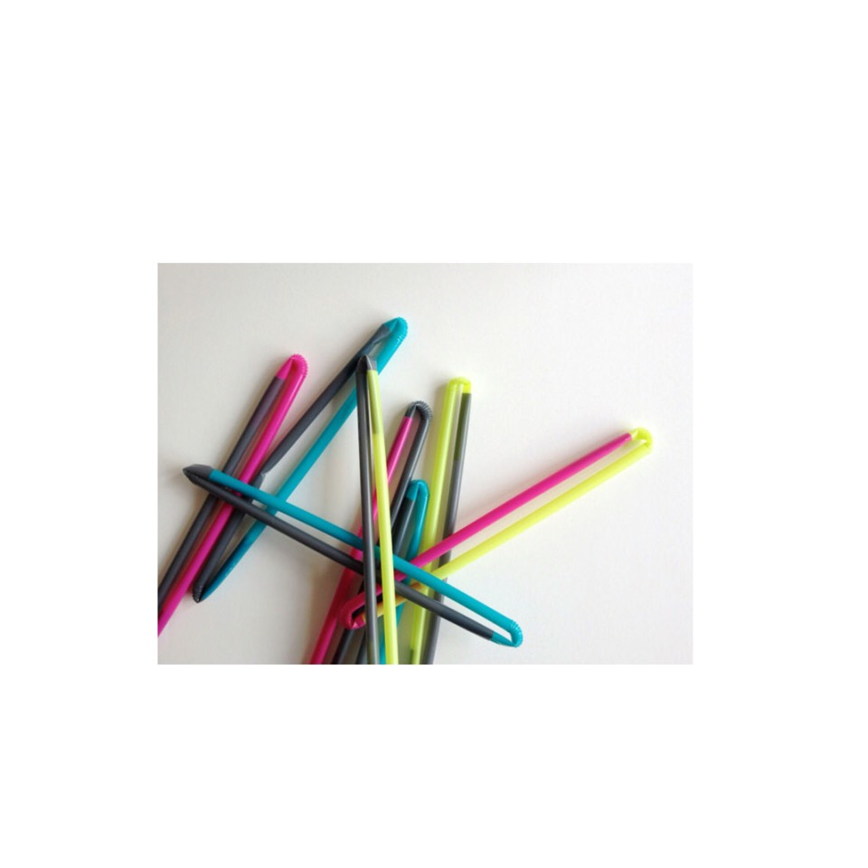 bring a bag of bendy straws and let them make shapes out of them like triangles and challenge them like (make a circle out of 2 straws) but that will only work for your older ones