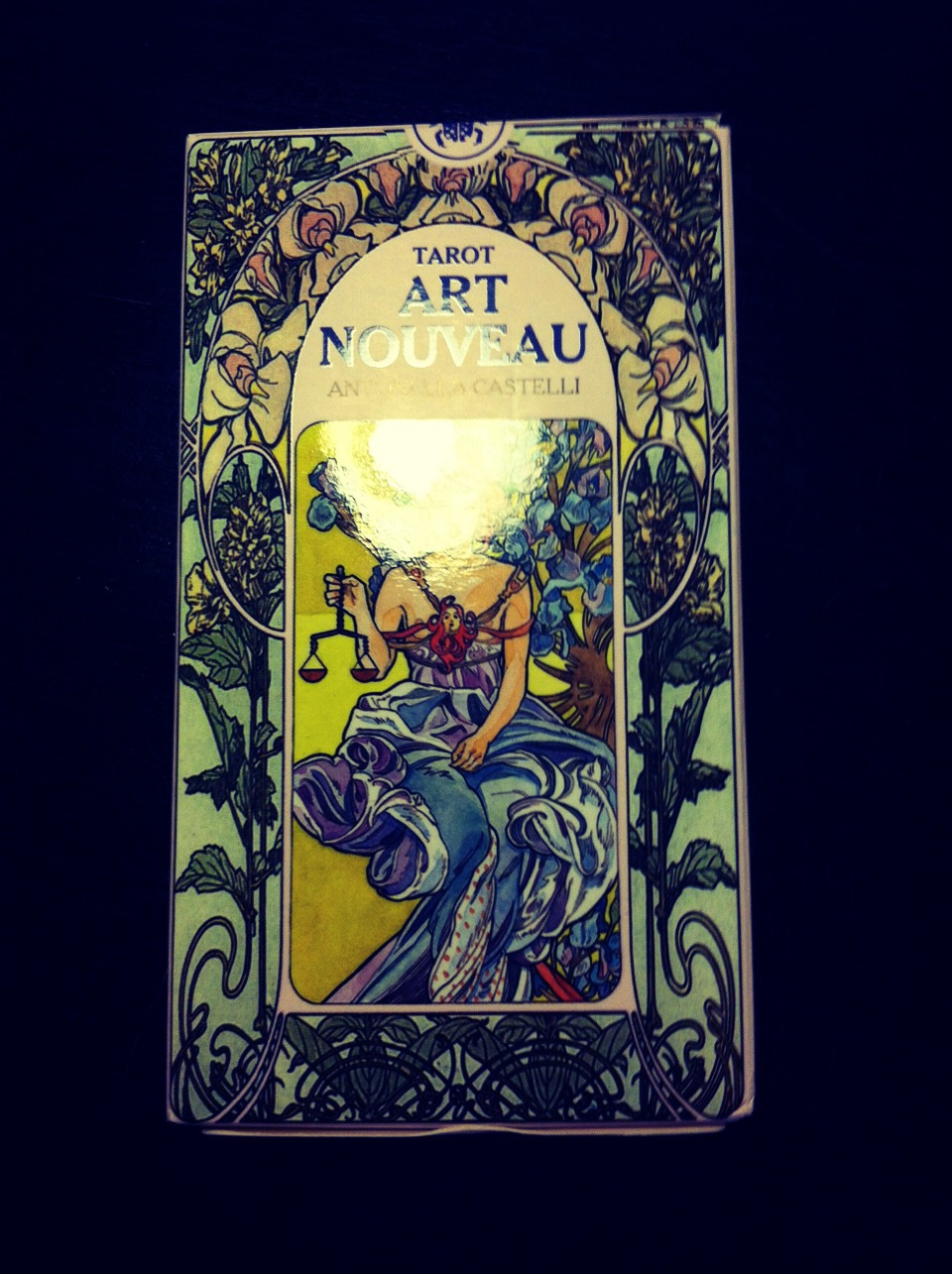 NOTE- There are many ways to read tarot cards and this is just one way.