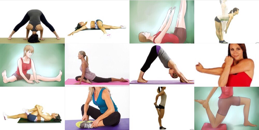 20 seconds each stretch!