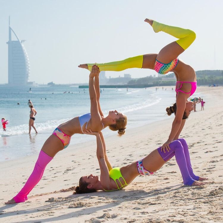 Partner Yoga Goal By Bree E Musely