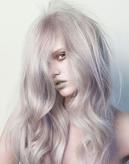 The trend of silver/grey hair is another from 2013 carrying through into 2014. What's great about this color is that you can wear it many different ways. Your silver hair can pull in blonde, blue, grey, lilac, or even gold. It's this versatility that makes silver/grey hair one of the best colors