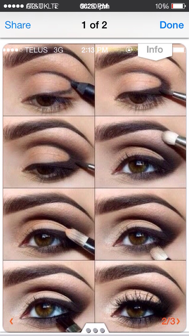 The sweet with a little rock looks make up