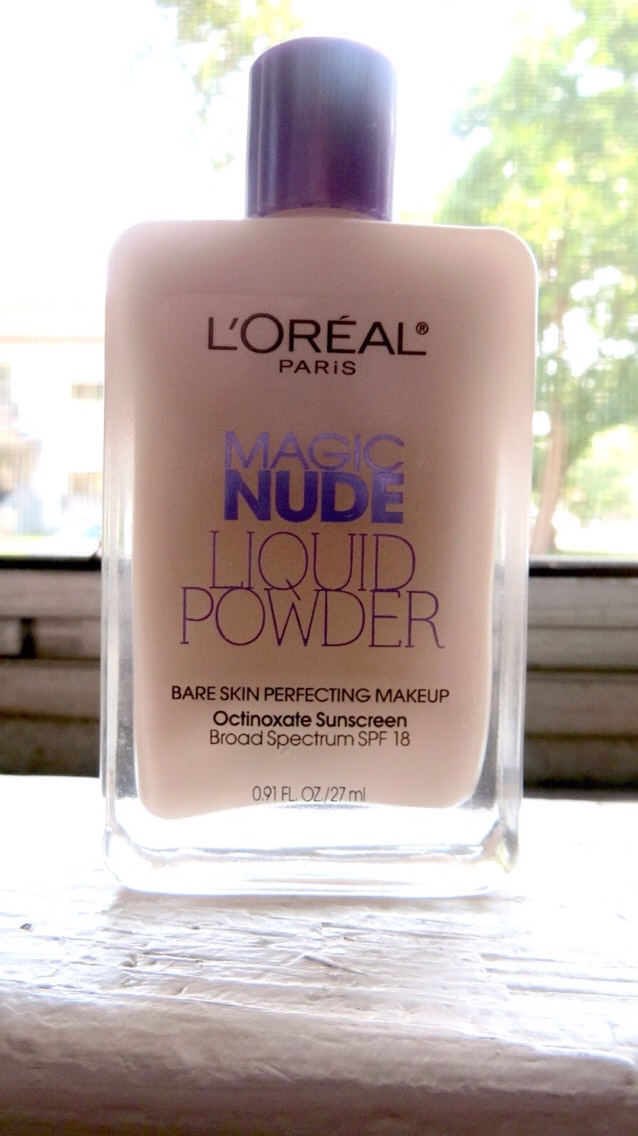 4. L'Oreal Magic Nude Liquid Powder is a great foundation for only $7.99. It has creamy, full coverage and glides on like silk for a flawless finish. Works for all skin types from dry to oily! I give my personal stamp of approval!!👌