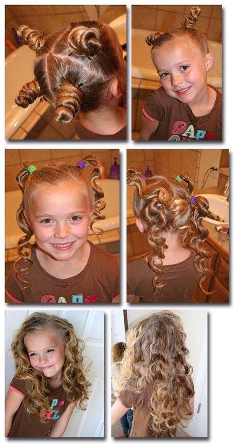 Great idea for heatless curls