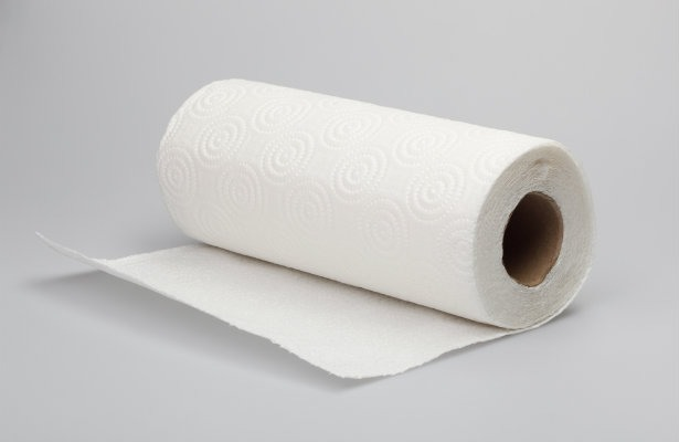 Then put it on a paper towel