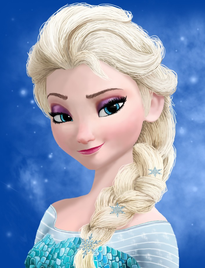 Elsa was suppose to be the villain.