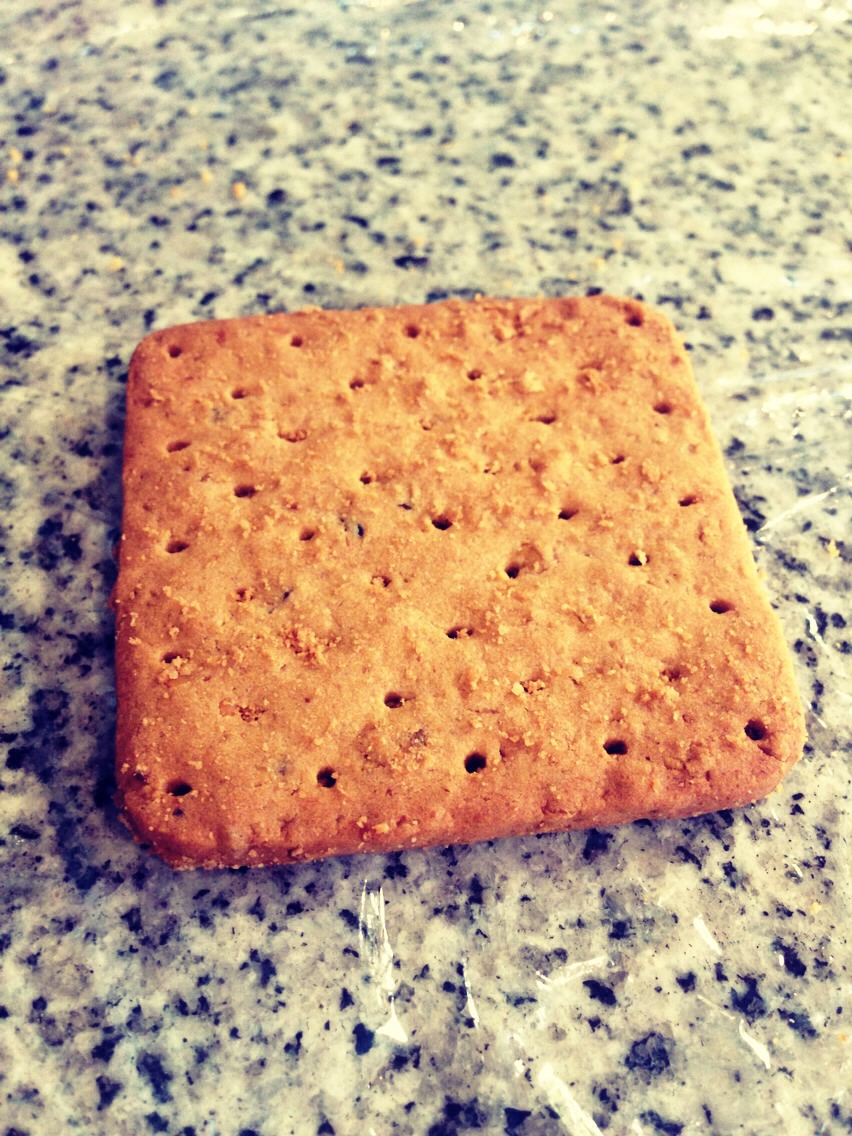 1) First you need to get graham crackers!
