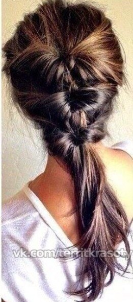 That's the hair style that we gonna do today, and that is gonna be perfect for school and work.