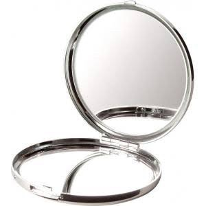 13. Use a compact mirror to quickly check ur appearance and your teeth to make sure your good to go!