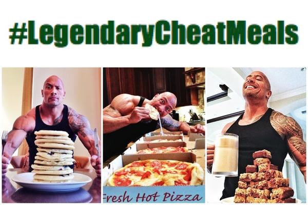 Have a cheat day ok maybe not the whole entire box of pizzas but have a cheat meal on the 5th or 7th day