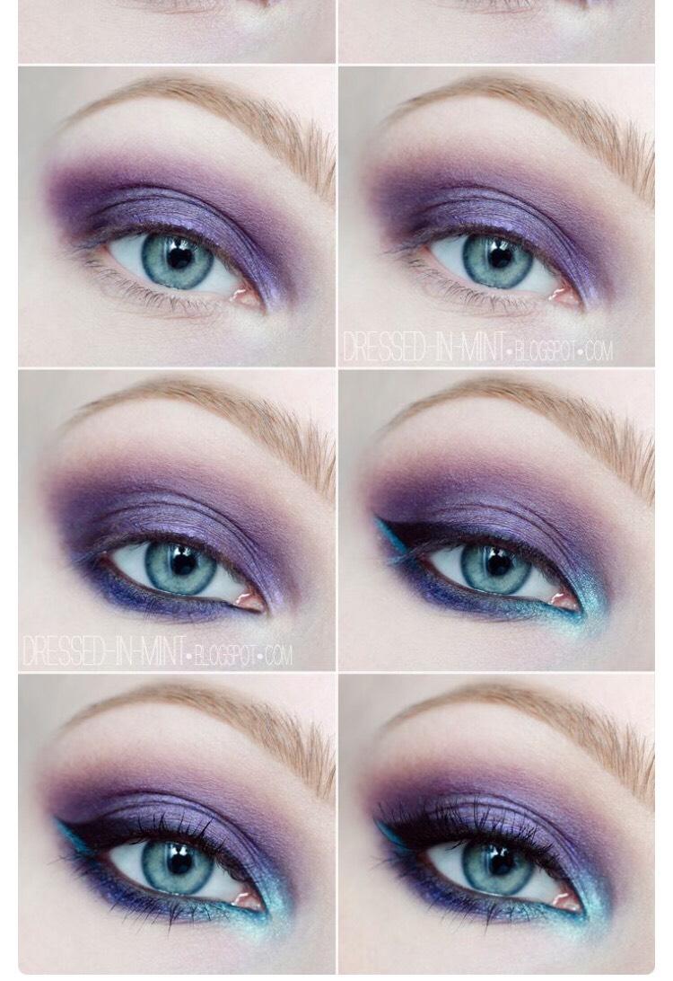 Simple Purple Eye Makeup By Sarah Ish Musely