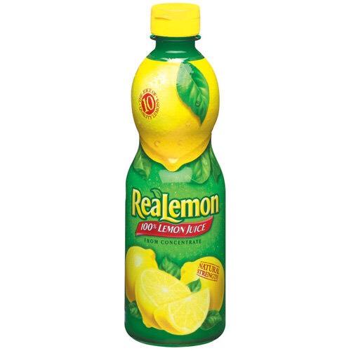U need lemon juice