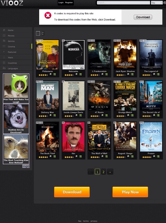 Go to viooz.co there will be pop ups when you click on things but just ex them out right as they pop up no need to download anything it will say you need to download to play but you don't all you do is 1)find a movie you want to watch