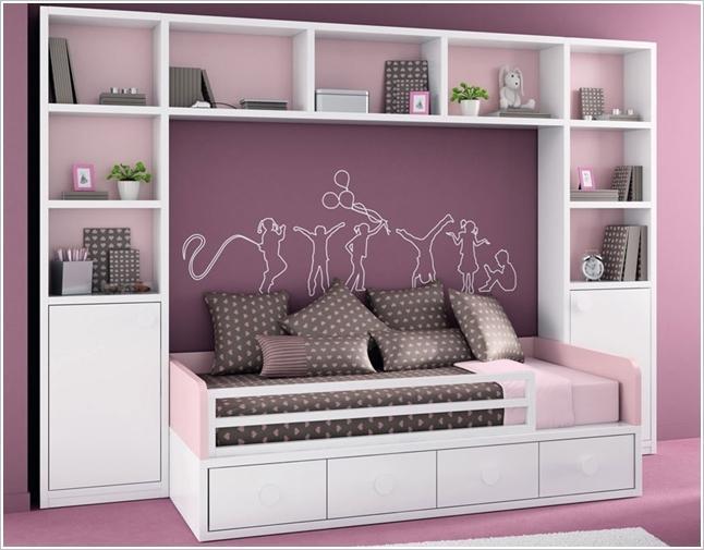 Clever Storage Around the Bed