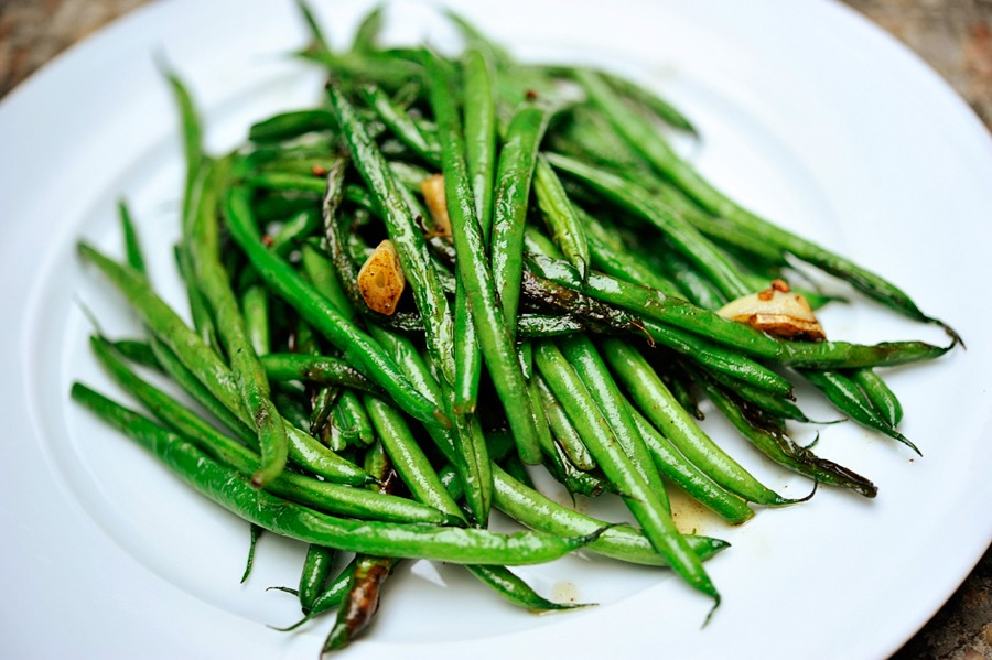 Green bean salads are one of my favorite, especially in the warmer months for a picnic, served room temperature with a tangy vinaigrette. Tasty Kitchen member Nancy's version caught me eye because of the wasabi spice and browned garlic. It was absolutely delicious!