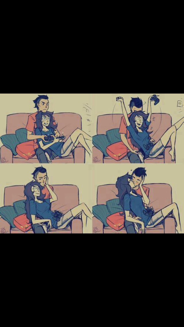 Being this kind of couple is life bro 😍  Ps.( me and my boyfriend always try this and we always end up hitting the sticks out if each others hands so yh you can say we are some cheaters loll)
