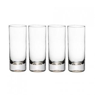 Pour into prepared glasses