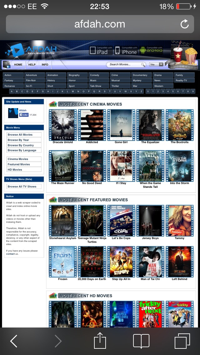 what are good free movie websites