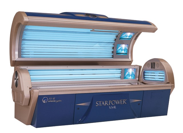 Since it is your first time in a tanning bed it is best that you use their level 1 bed. The level 1 bed is the least powerful bed they have in the salon. Most salon staff recommend only tanning for 5 minutes your first time so you don't burn, and gradually increase time as you go.