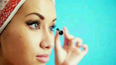 Clean off an old mascara brush, then when you get clumps just comb it through your eyelashes and it'll get all the clumps! (: