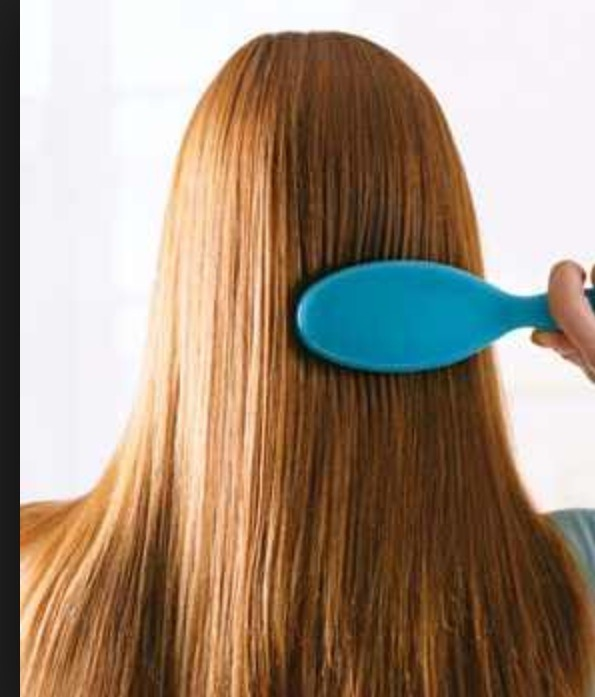 Once you unravel your hair and take out the bobby pins gently start brushing throughout your hair