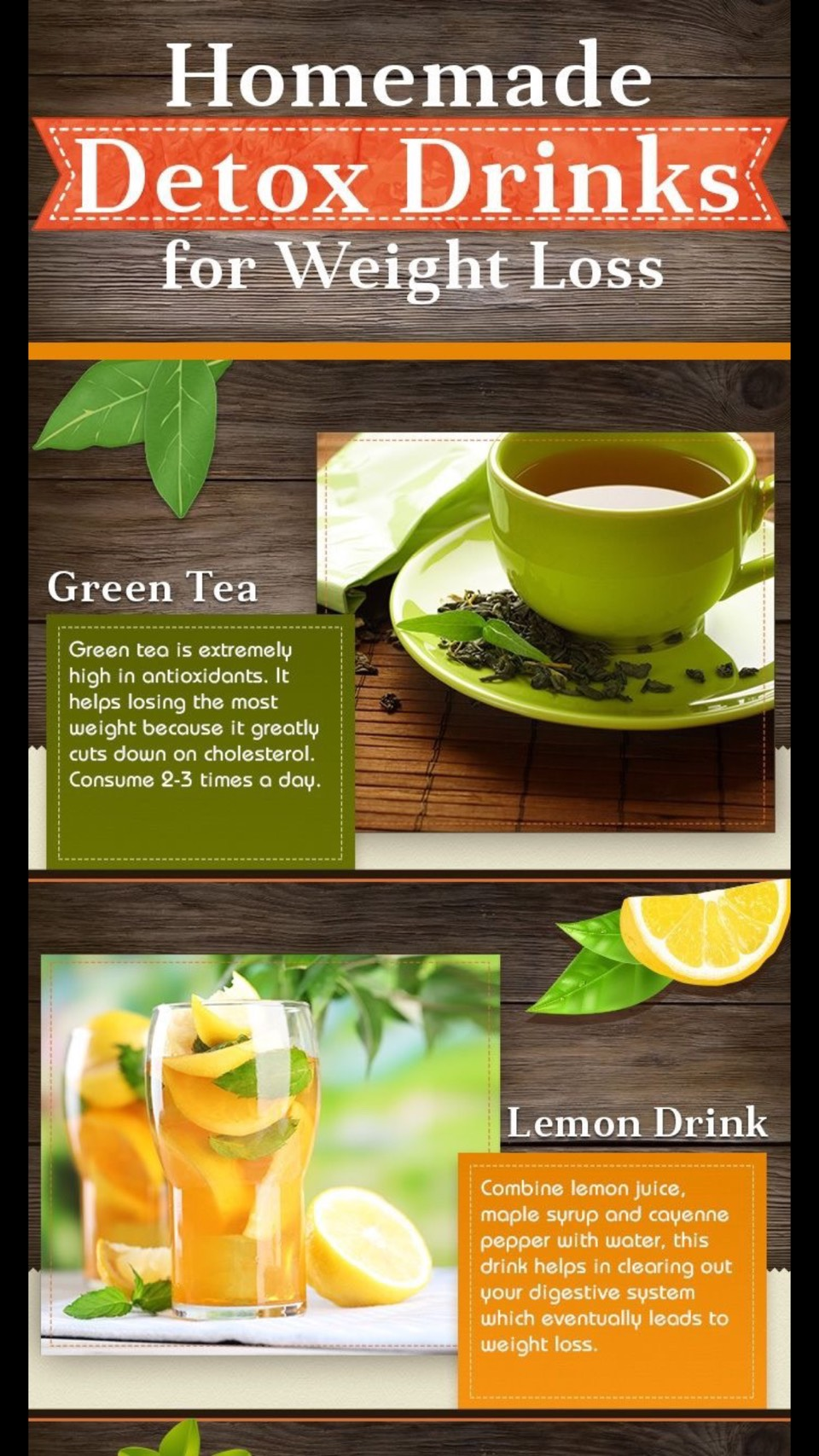 Detox Drink And Food For Weight Lose