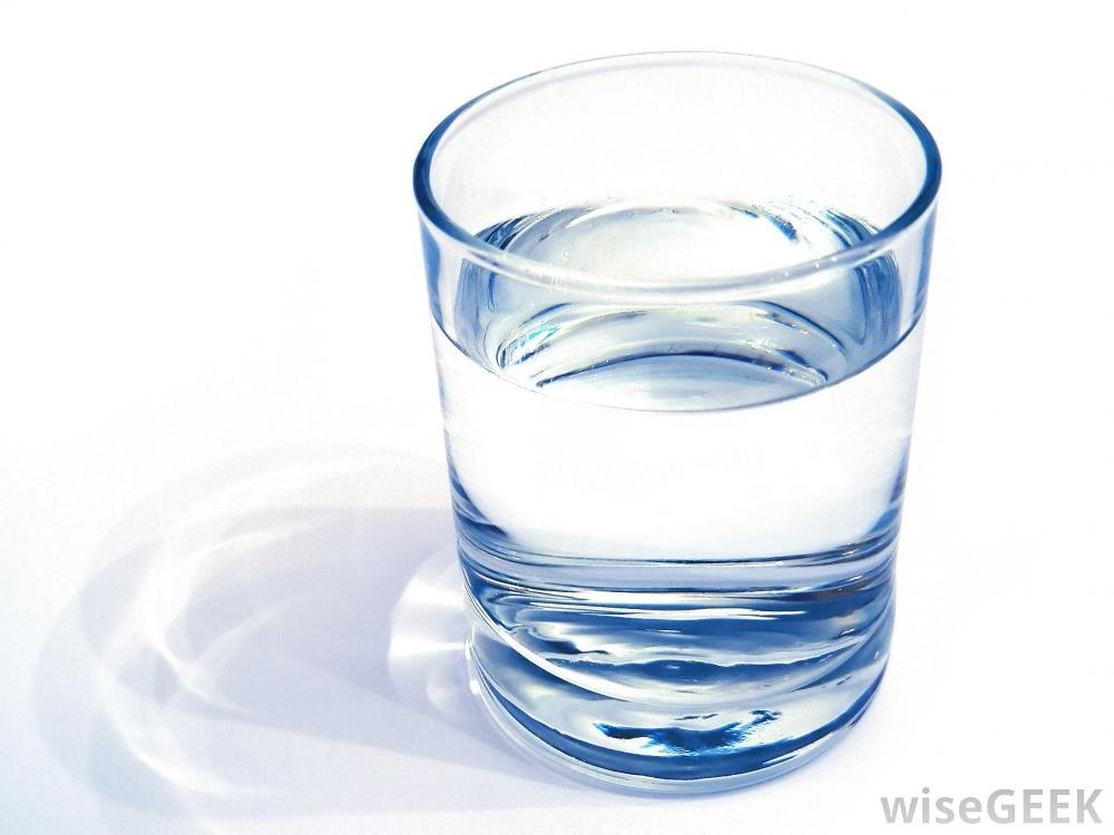 8 cups of water