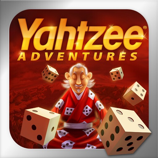 YAHTZEE  This game can be really addicting. You can start games with random people or people you know on Facebook.