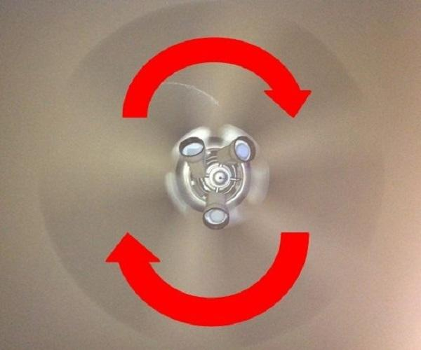 7.) Is your house too cold?: If you have a ceiling fan, keep it on LOW and make sure it's going in reverse (clockwise). It'll push the warm air that rises to the ceiling back down to you.