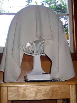Put it in your bedroom or any room and it will cool it down tremendously!