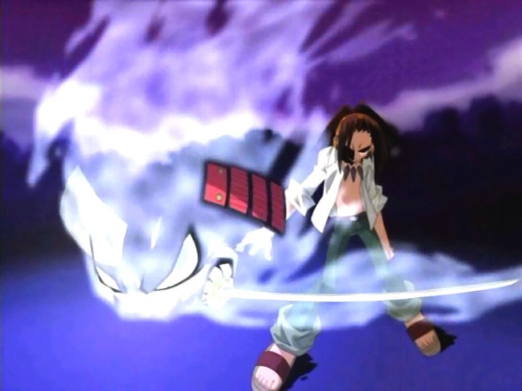 Shaman king: a lazy, down to earth guy tries to hone his skills of combating with ghosts to become the shaman king. It's better than it sounds.