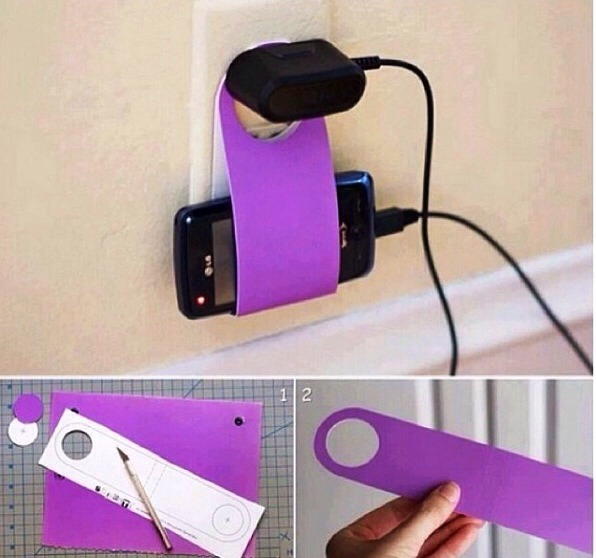 A great way to remember where your phone is when it's charging and to concentrate on homework or things you have to do😊👍