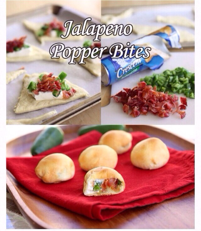 Delicious Jalapeño Popper Bites Great for parties and GUYS! Lol. Enjoy, Like & then save.