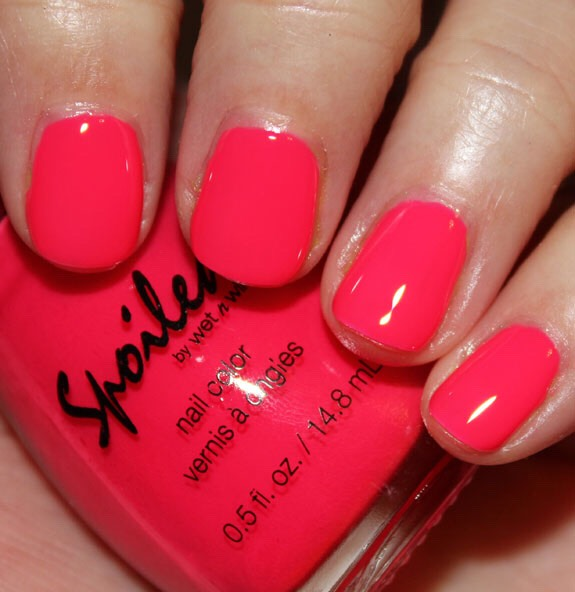 This is my favorite color its called tip your waitress I have it its a great formula and color