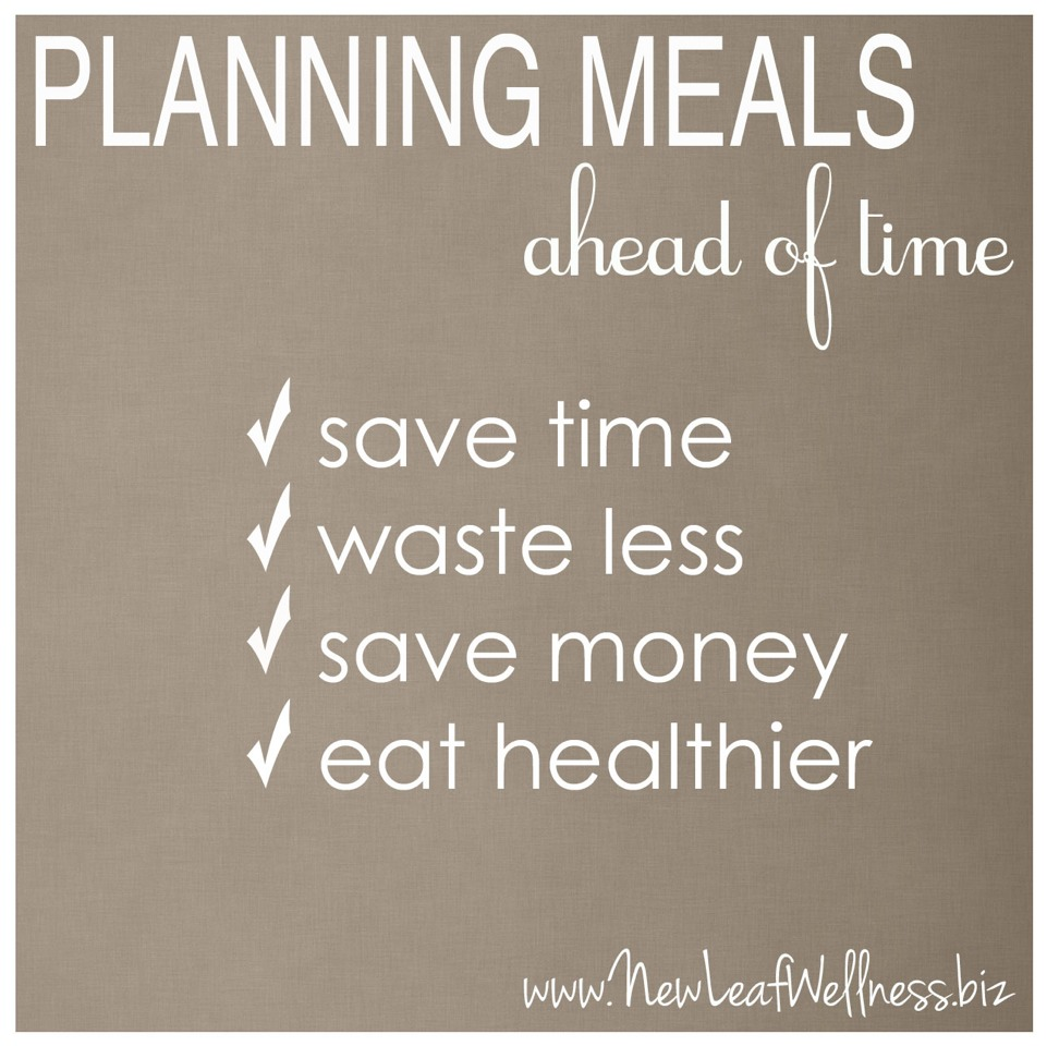 Not Planning Weekly Meals  Without a plan, you risk wasting money at the grocery store or on fast food.