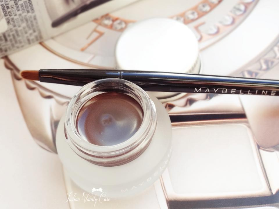 brown eyeliner is a great option as its not very harsh and a gel will stay on most of the day.
