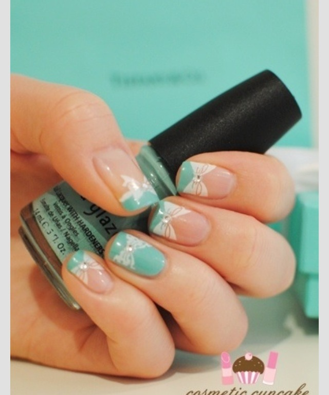 Musely tiffany and co nail art prinsesfo Images