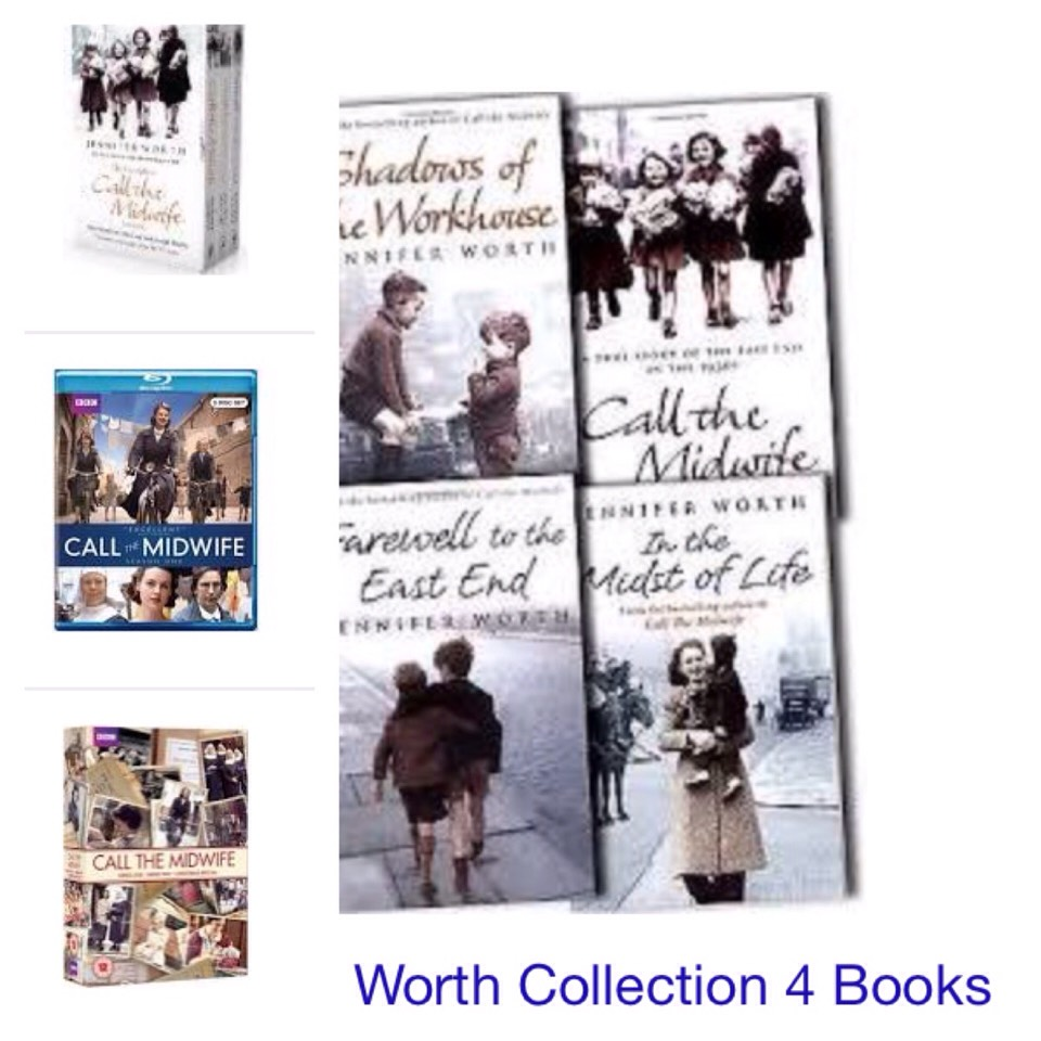 How about the Call the Midwife DVD set, or the true story books the show is based off of.