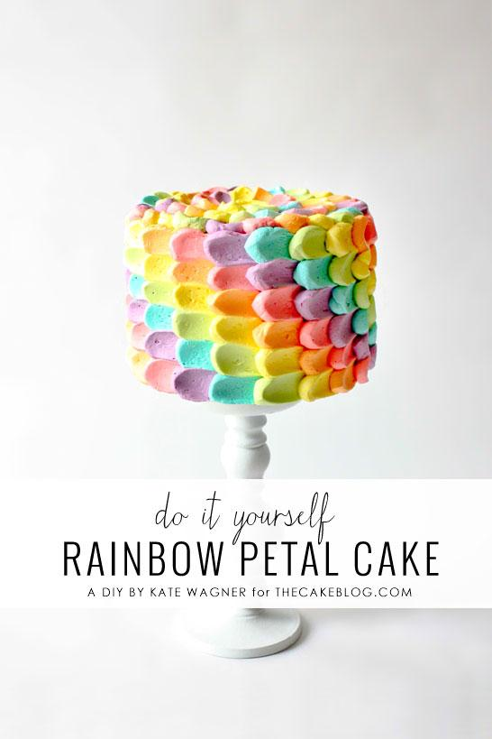 Materials:  6″ crumb coated cake, chilled. Cake board or plate Skewer / Toothpick Ruler 3 cups Buttercream Icing / Frosting food color 6 zip lock bags A teaspoon Paper towel Scissors Turntable (optional) 6 glasses/cups