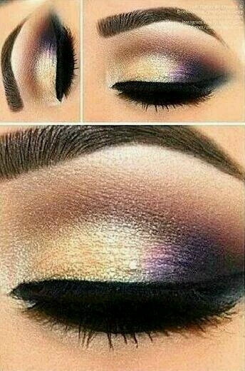 love the purple and the moon gold is he yellow color