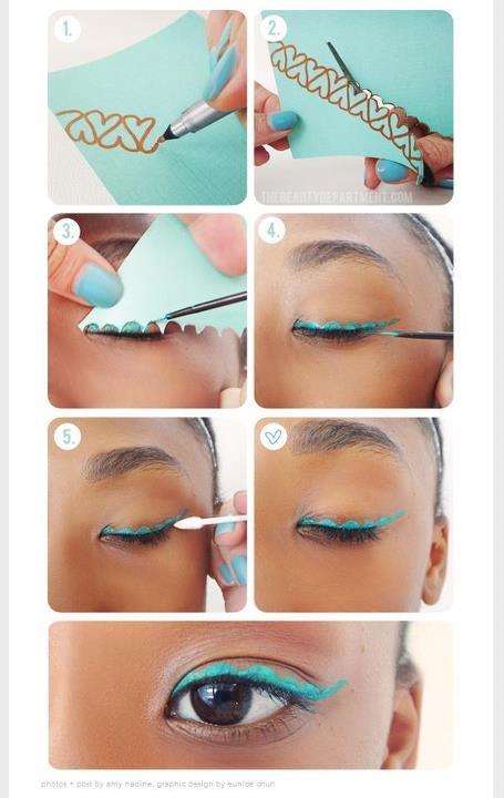Awesome eyeliner tip! :)