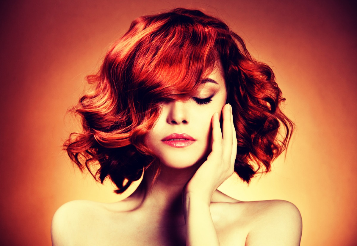 Give Curls Bounce Never brush curls out with a brush. Instead, loosen them with your fingers. This will give curls added lift without flattening them down.