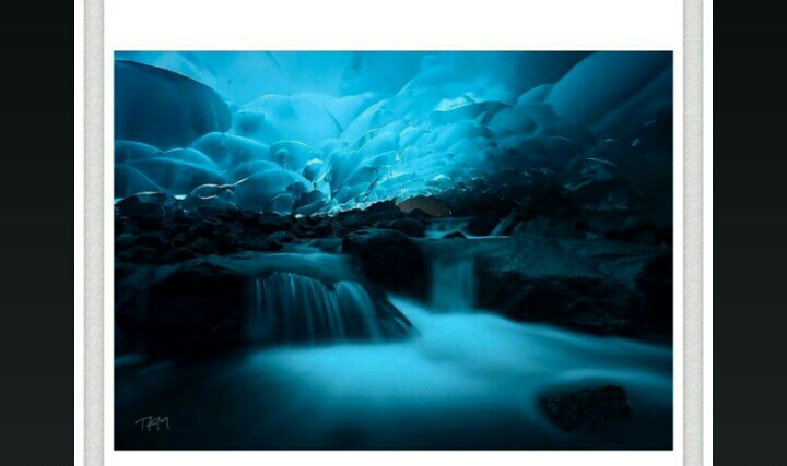 Mendenhall Ice Caves, Juneauin, Alaska