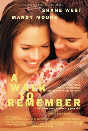 A walk to Remember It's based on a Nick Sparks book...enough said.