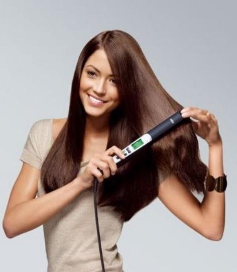 Straightening your hair
