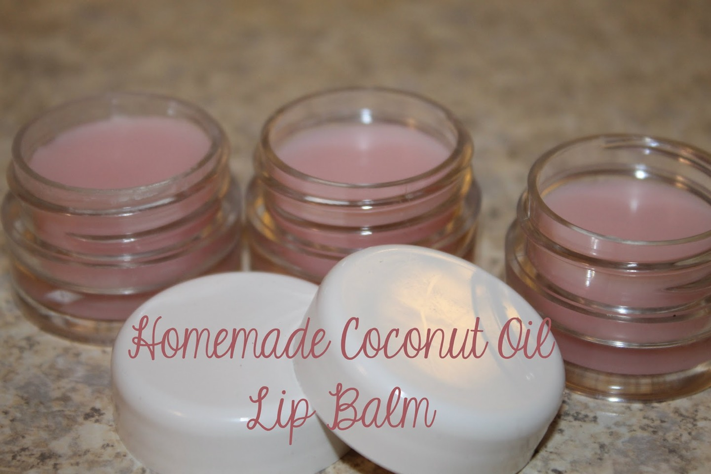 You can make lip balm. Just get an altoids can and melt 2 tablespoons of coconut oil them dump into tin and put in freezer for 10 minutes or until hard.